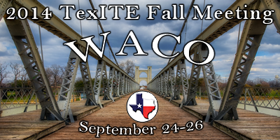 Official meeting logo for the 2014 Waco Fall Meeting